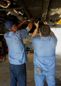 Norman Bros. Auto Repair jacksonville fl Mechanics Working on a Car in Jacksonville, FL